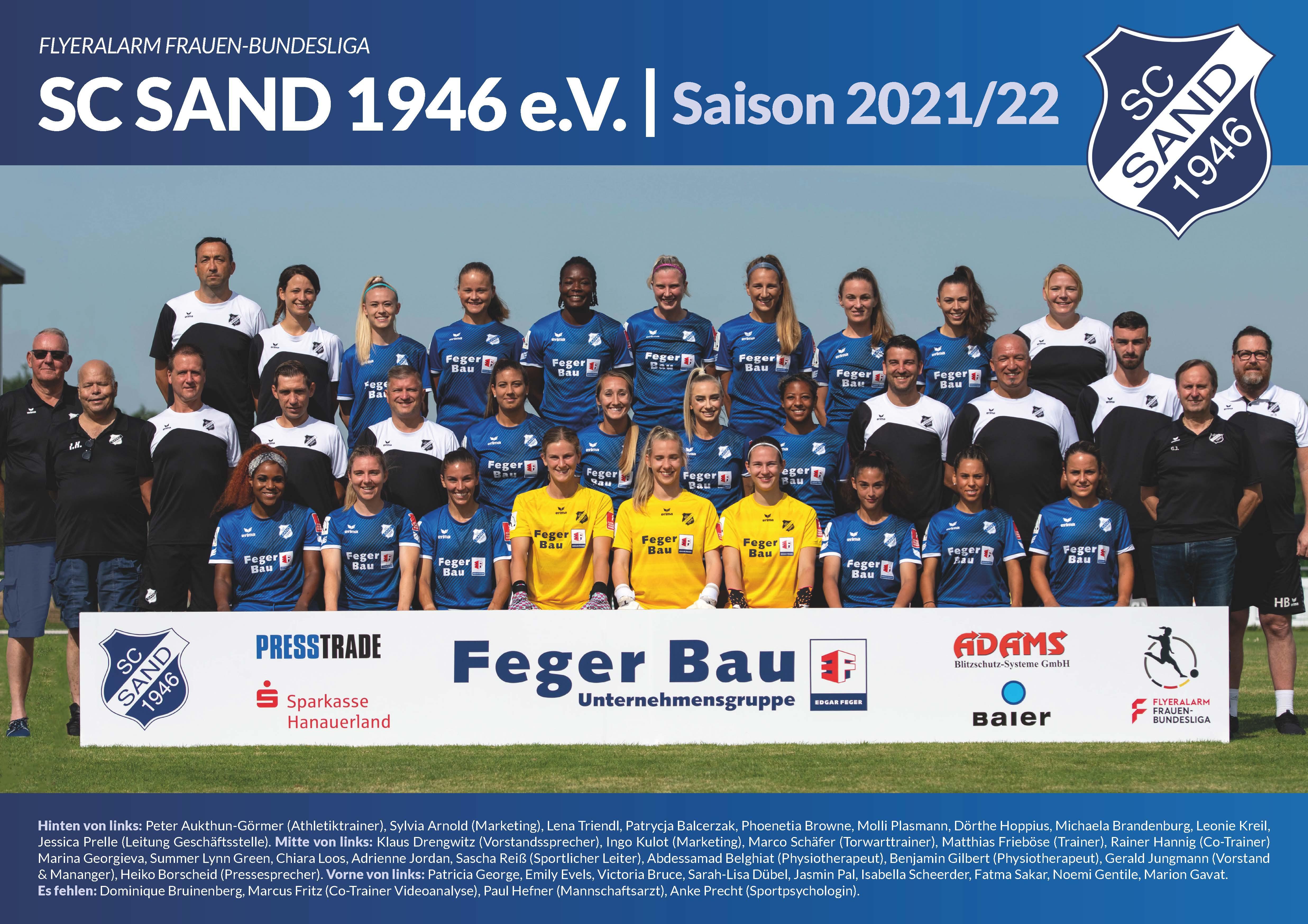 Teambild Saison 2021/22